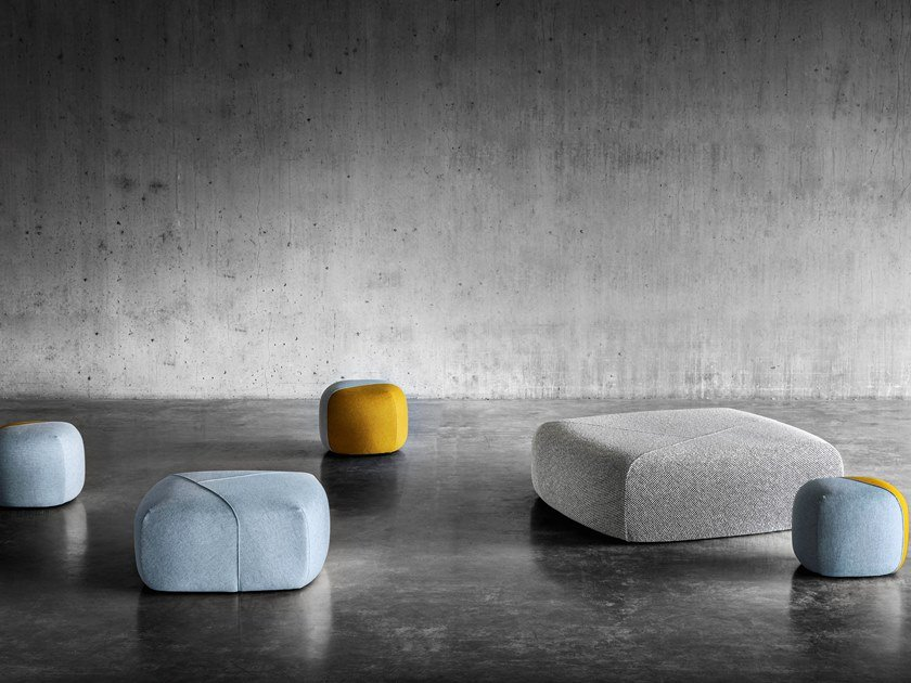 Pouf in tessuto FUROSHIKI by Miniforms