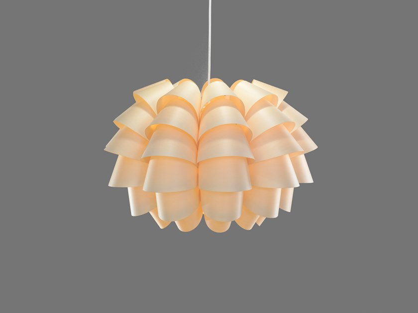 LED handmade wood veneer pendant lamp FURU9 | Pendant lamp by SENCE