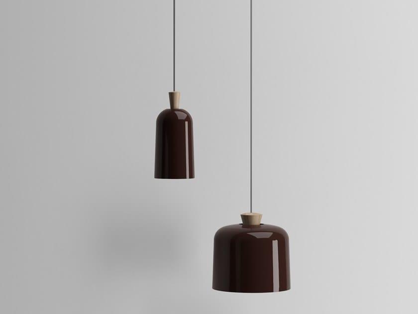 Ceramic pendant lamp FUSE by Ex.t