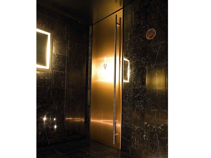 Hinged laminate door FUSION by Arnaboldi Interiors