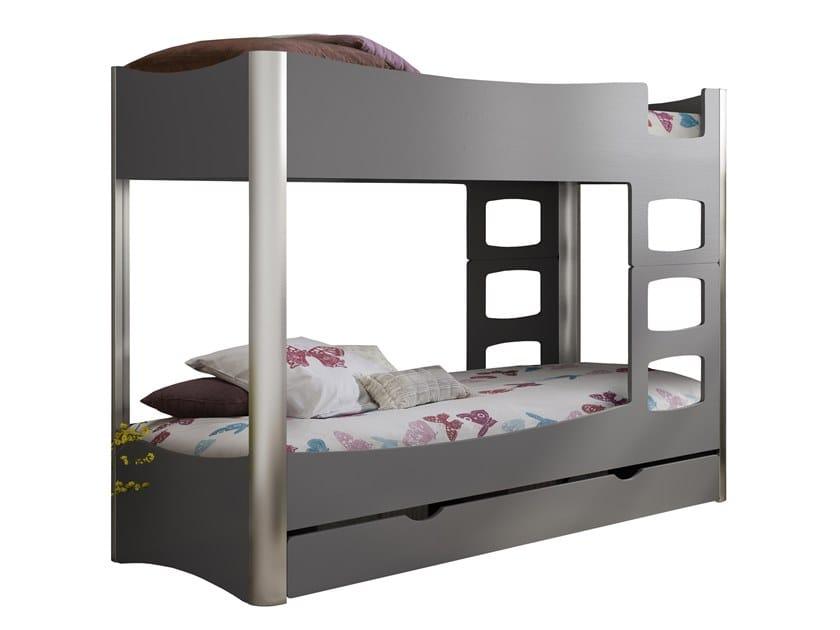 kids bunk bed l shaped david 165 kids bunk bed by mathy by bols design david enthoven