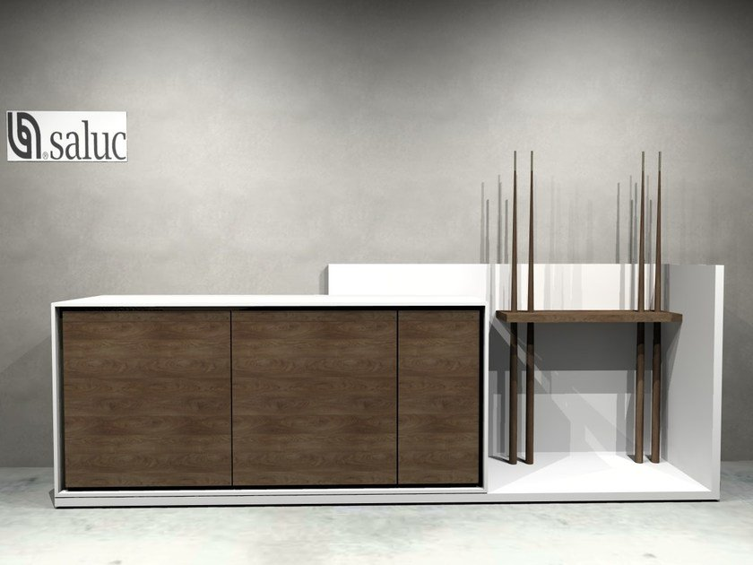 Lacquered wooden sideboard FUSION | Sideboard by Fusiontables Saluc