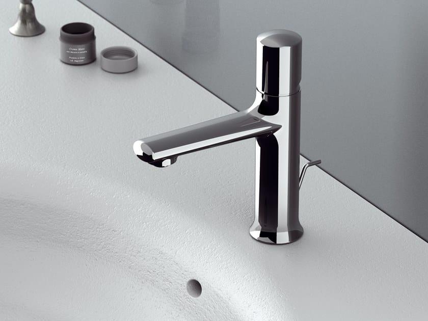 Single handle brass washbasin mixer FUSION | Washbasin mixer by Daniel Rubinetterie