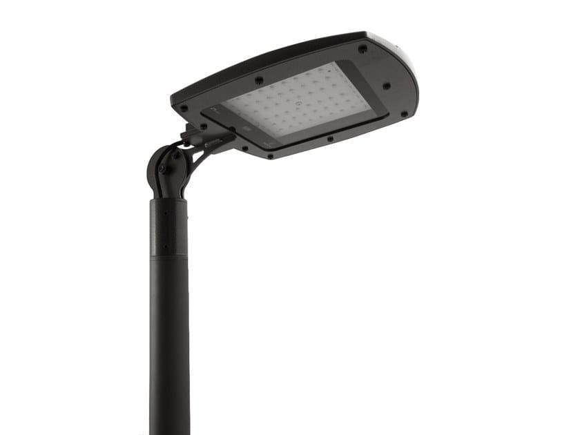 LED Anodized aluminium street lamp FUTURA by ENGI