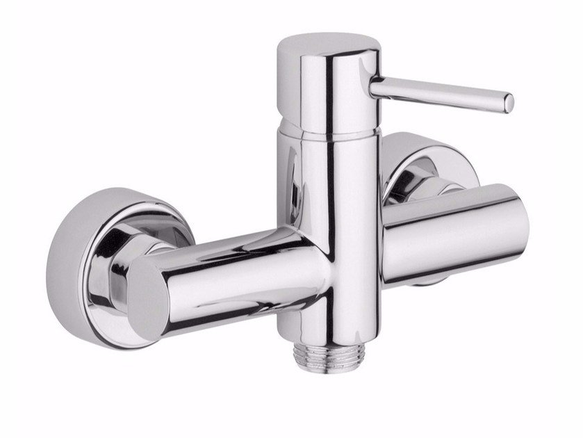 2 hole single handle shower mixer FUTURO - F6508 by Rubinetteria Giulini