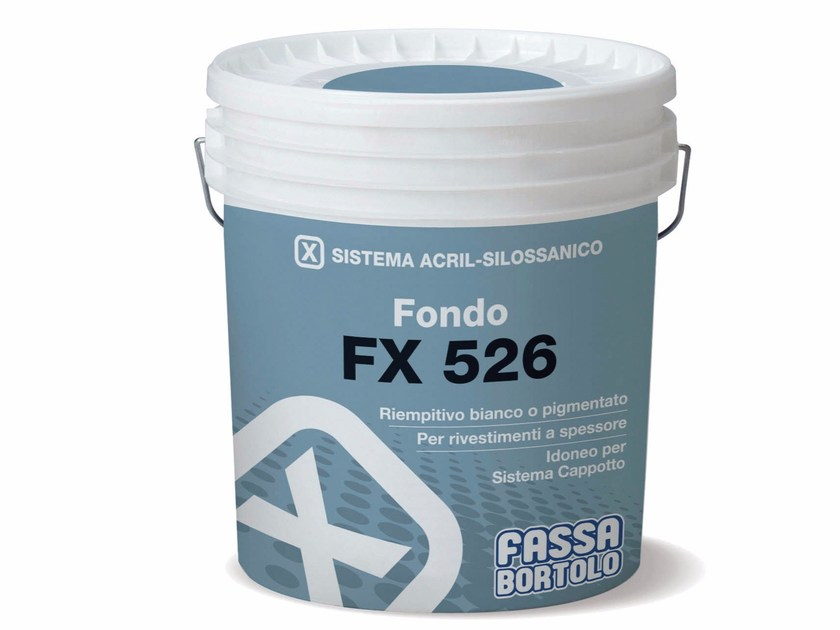 Skim coat and cementitious finish for plaster FX 526 by FASSA
