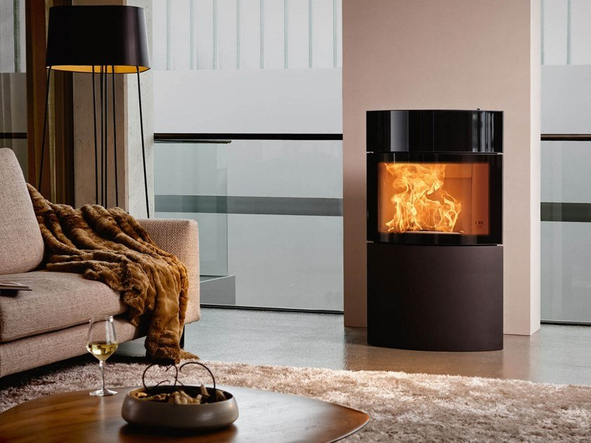 Wood-burning stove FYNN XTRA by Austroflamm
