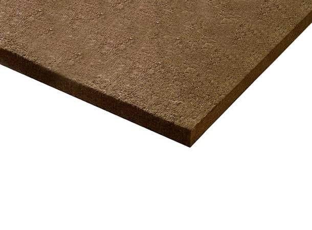 Wood-beton thermal insulation panel / sound insulation felt FiberTherm BitumFiber® 230 by BetonWood