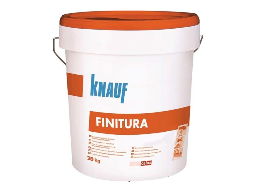Gypsum and plaster Finish by Knauf Italia
