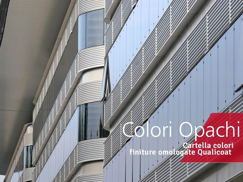 Metalworking Finishes on metals - Opaque colors by Decoral® GROUP