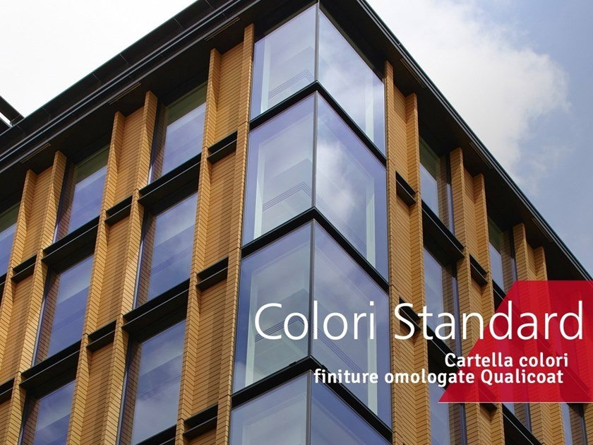 Metalworking Finishes on metals - Standard colors by Decoral® GROUP
