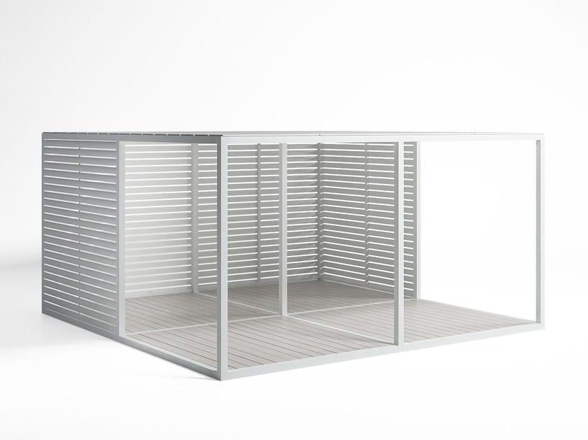 Tetto Alluminio Fisso e Pavimento serramenti