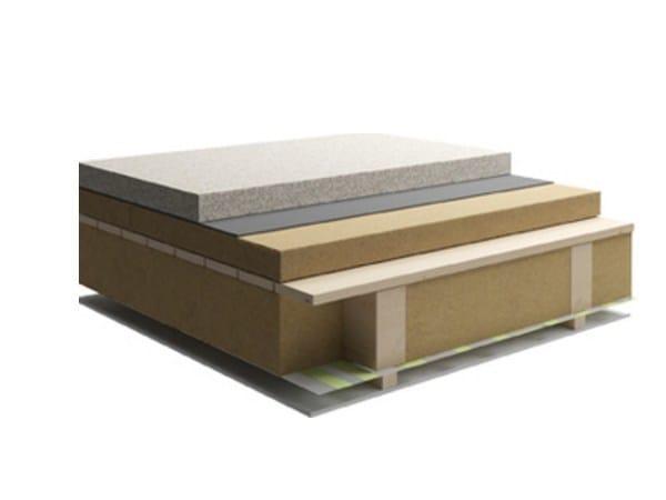 Sistema per tetto ventilato Tetto piano interposto by Naturalia BAU