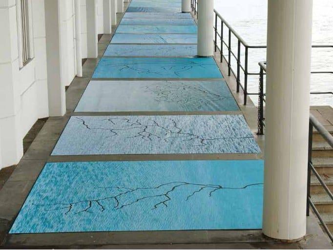 Pellicole per la decorazione pavimenti