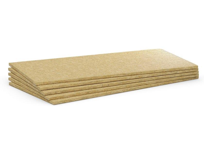 Rock wool Impact insulation system Floorrock TE by Rockwool Italia