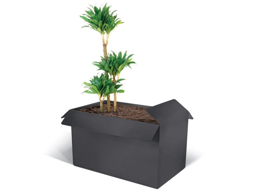 Steel Flower pot PLANTER BOX by LAB23