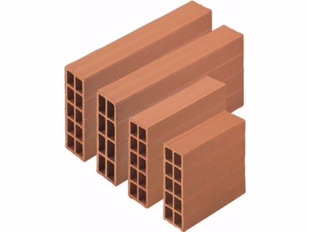 External masonry clay block Forati by Wienerberger