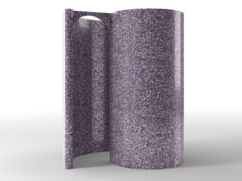 EPS shower Freestanding modular snail shower by La Veneta Forme