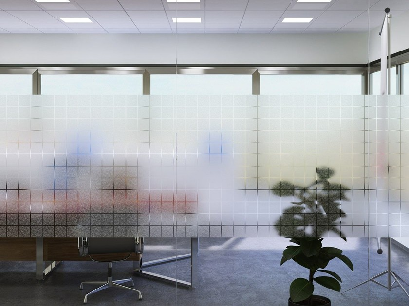 Adhesive decorative window film G-04 SQUARE By Artesive