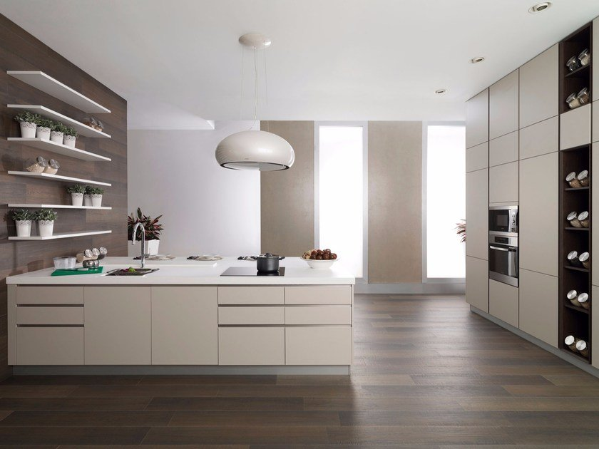 Laminate fitted kitchen G039 by Gamadecor