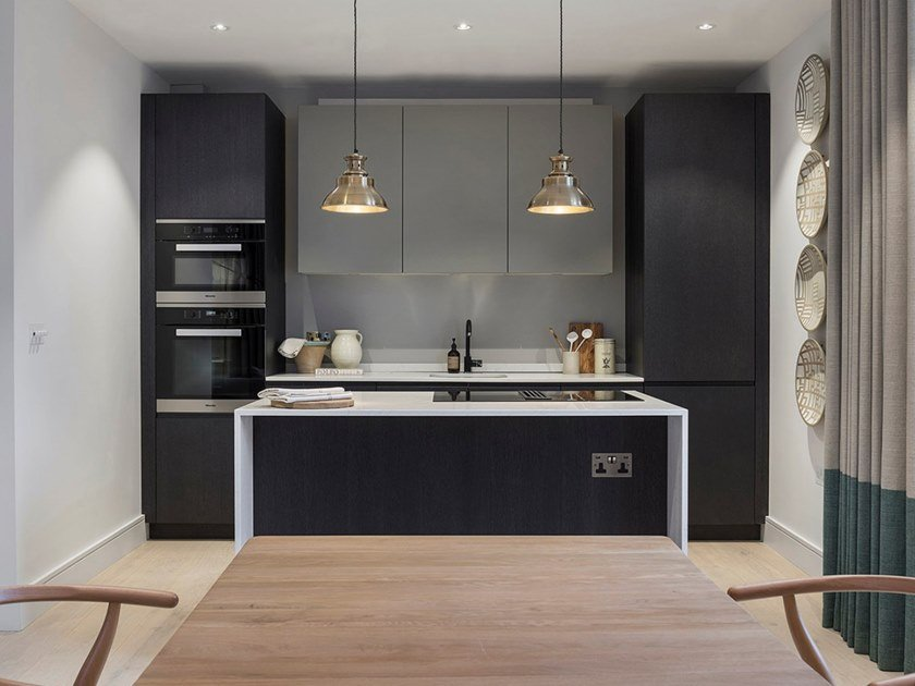 Custom kitchen with island G180 | Custom kitchen by TM Italia Cucine