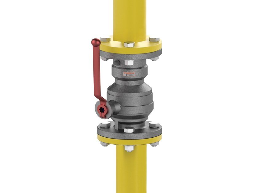 Shut-off valve with Firebag® thermal safety device G4F by TECO