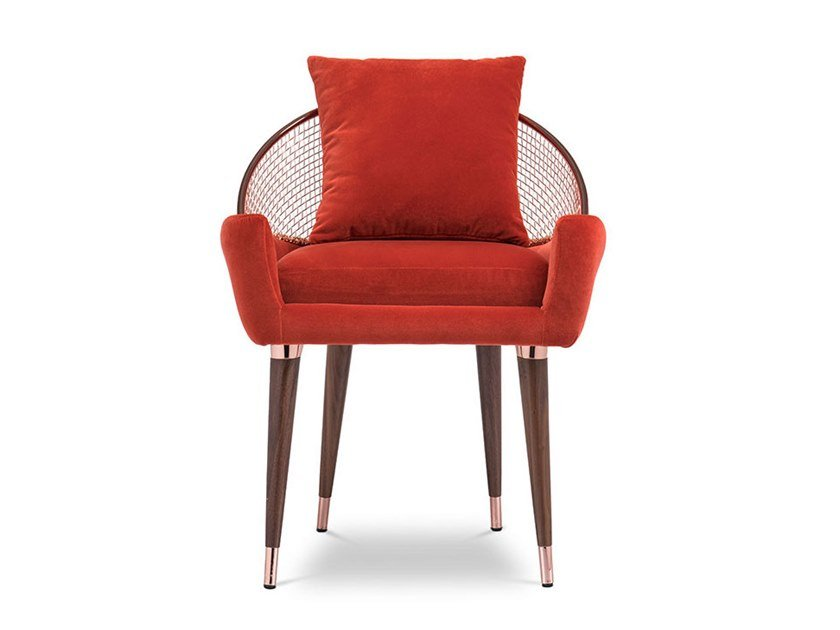 Fabric chair with armrests GABOR | Chair by Essential Home