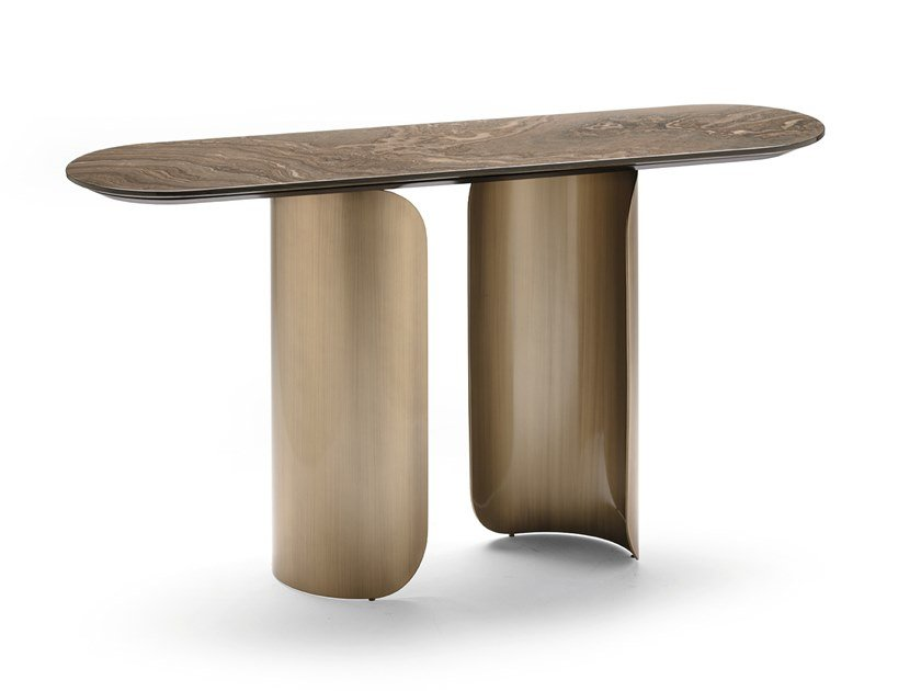 Marble console table GABRIEL | Console table by OPERA CONTEMPORARY