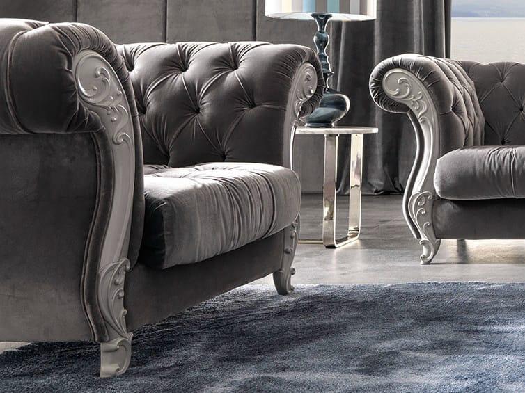 Tufted armchair GABRIEL   Armchair by CorteZari