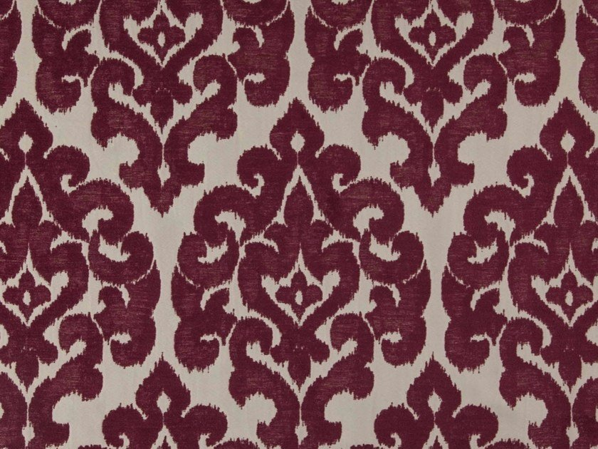 Damask chenille and polyester fabric GAHERIS by FR-One