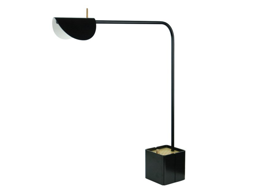 LED metal table lamp with dimmer GAIA by bs.living