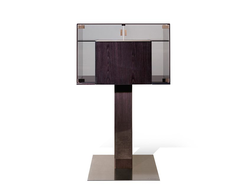 Crystal bar cabinet GAIUS by Visionnaire