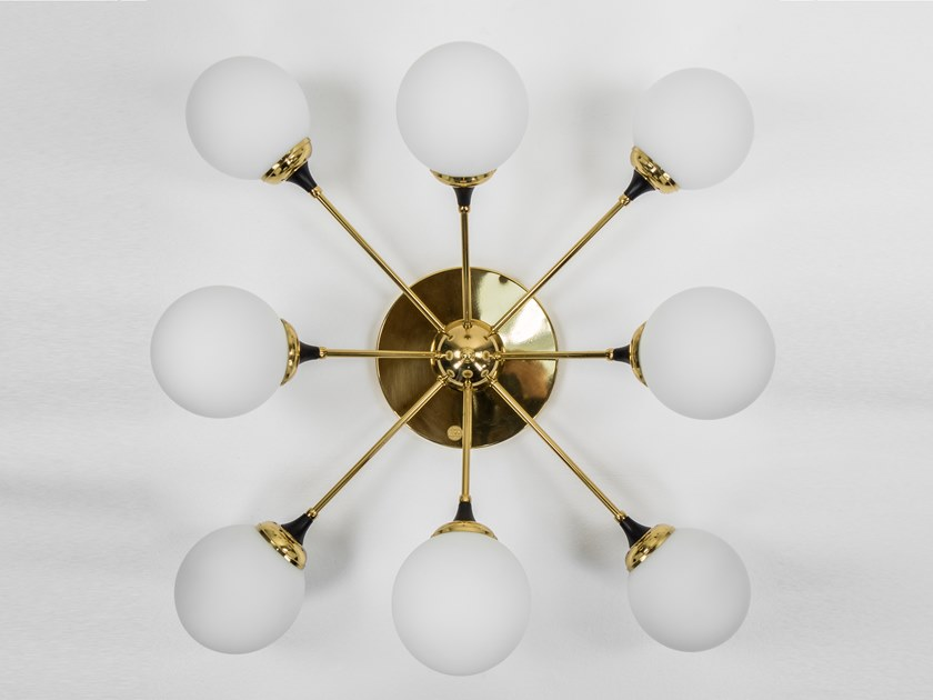 Glass wall lamp / ceiling lamp GALASSIA - S5050 | Ceiling lamp by Stilnovo