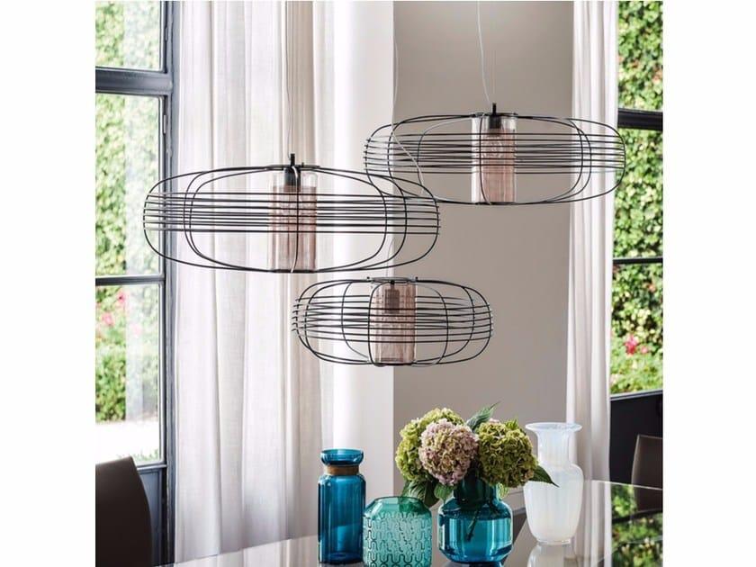 Steel pendant lamp GALAXY by Cattelan Italia