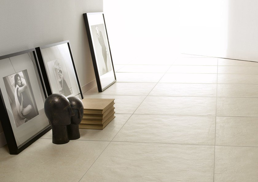 Indooroutdoor Porcelain Stoneware Wallfloor Tiles With Concrete