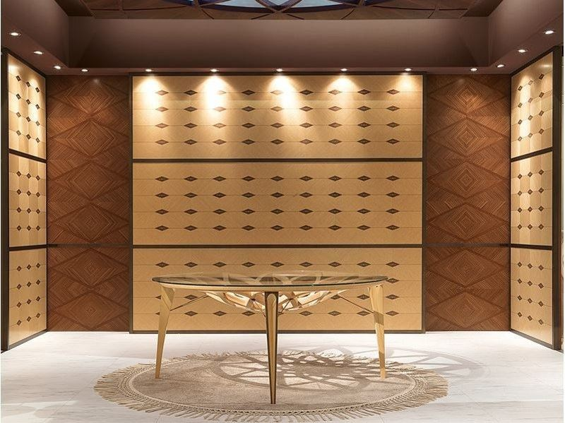 Wooden boiserie BOISERIE GALILEO by Carpanelli Contemporary