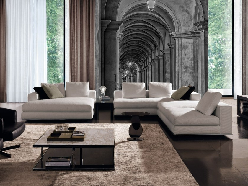 Adhesive washable trompe l'oeil wallpaper GALLERY by Wall LCA