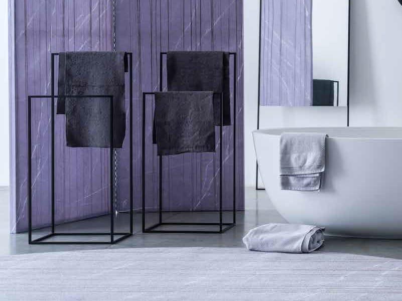 Porta asciugamani da terra in metallo GAMANI by Adriani e Rossi edizioni
