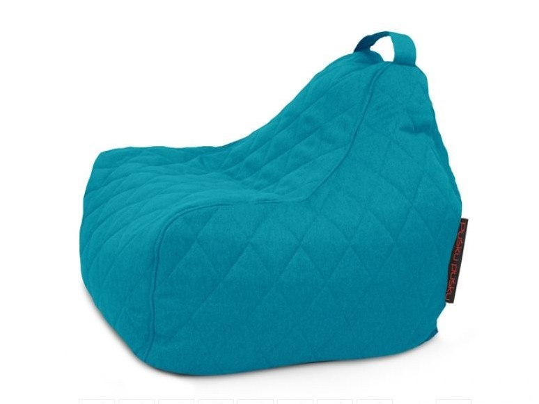 Fabric Kids bean bag GAME QUILTED NORDIC by Pusku pusku