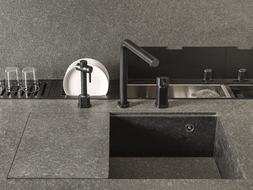 Kitchen equipped track GAP by Euromobil