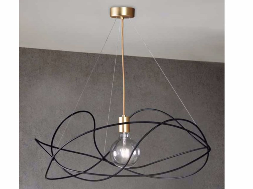Steel pendant lamp GARBUGLIO by Marchetti