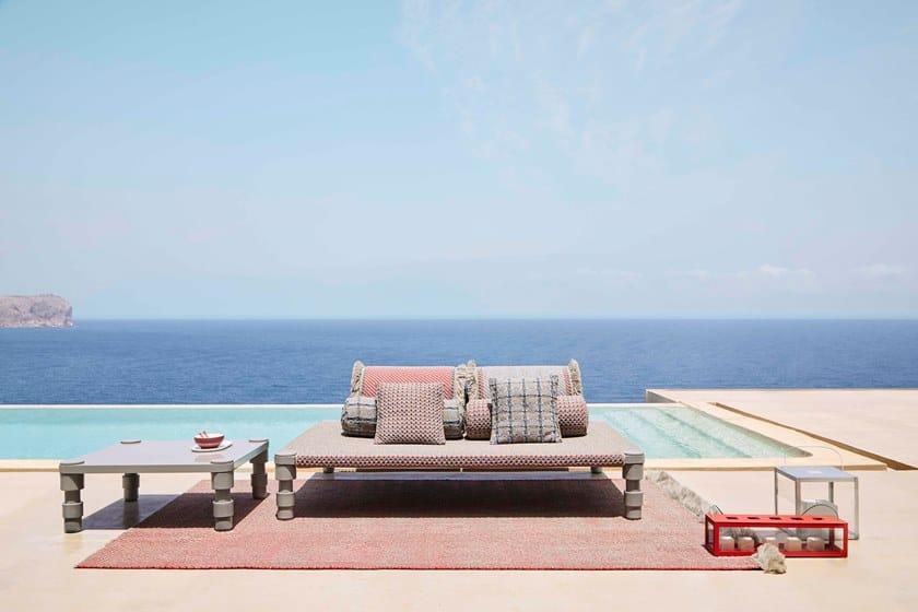 Gan Termolaccato Da Quadrato In Layers Giardino Garden Alluminio BlueTavolino WH2IED9