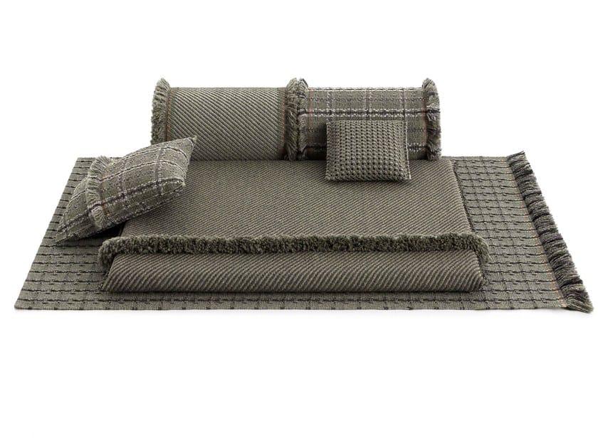 Outdoor polypropylene garden small mattress GARDEN LAYERS GREEN   Garden bed by GAN