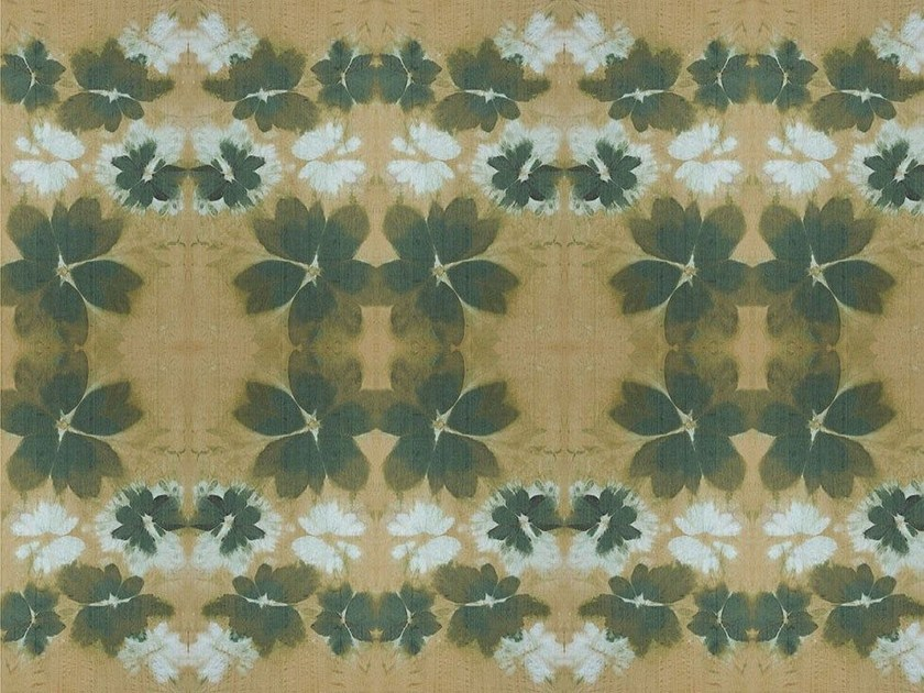 Wallpaper with floral pattern GARDEN by Wallpepper