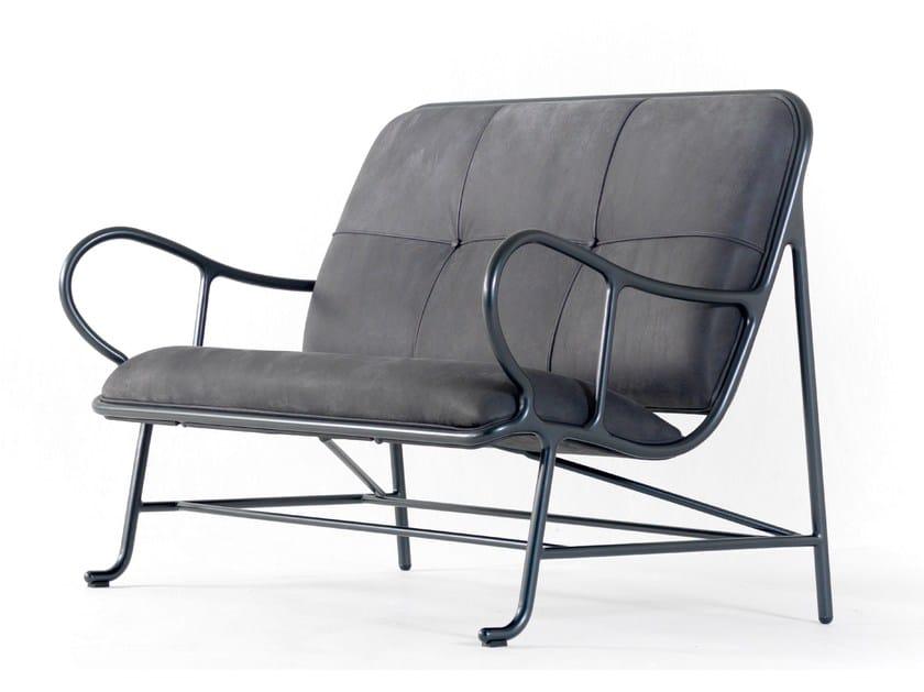 Fabric small sofa GARDENIAS INDOOR | Small sofa by BD Barcelona Design