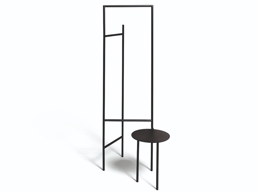 Powder coated steel valet stand GARDEROBIER by DE PADOVA