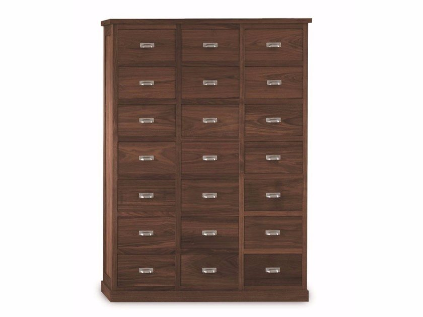 Wooden chest of drawers GASTONIA by Riva 1920