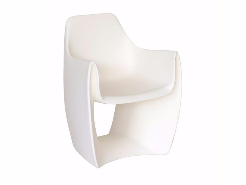 Polyethylene garden armchair GAT | Garden armchair by calma