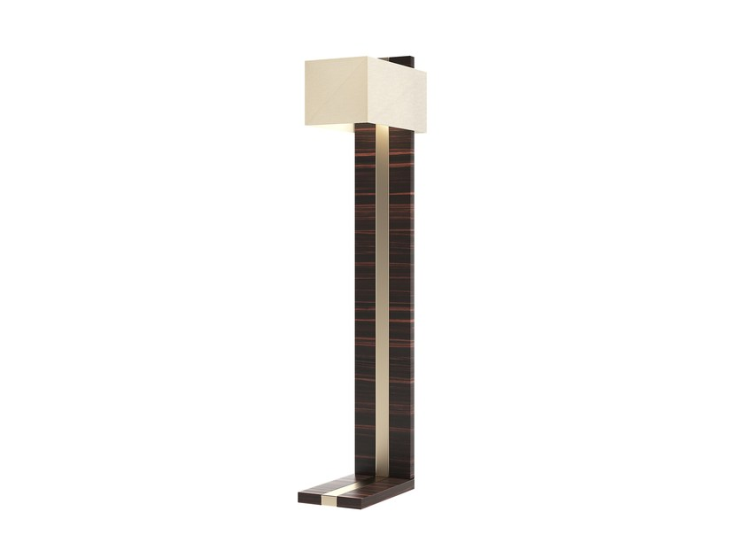 Solid wood floor lamp GATE | Floor lamp by Capital Collection
