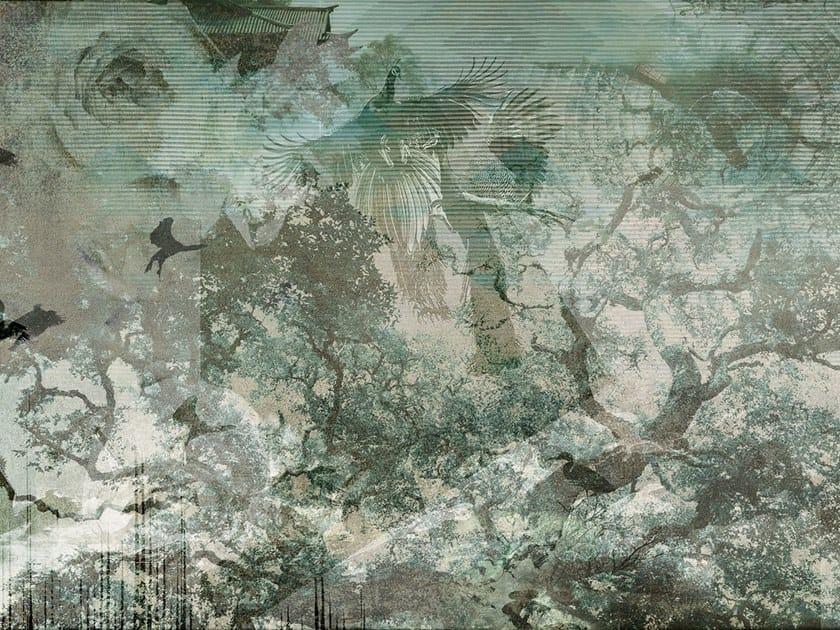 Nonwoven wallpaper GATE by Tecnografica